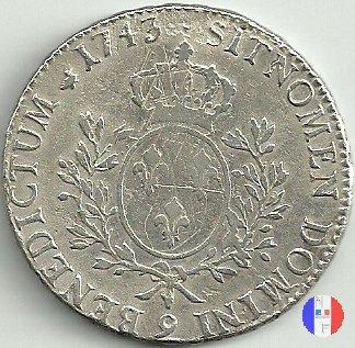 """scudo """"au bandeau"""" dal 1740 al 1744 1743 (Rennes)"""
