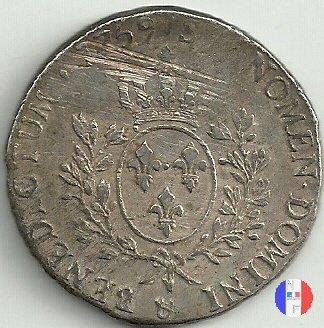 """scudo """"au bandeau"""" dal 1758 al 1762 1759 (Aix-en-provence)"""