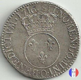 """scudo detto """"vertugadin""""dal 1715 al 1716 1716 (Riom)"""
