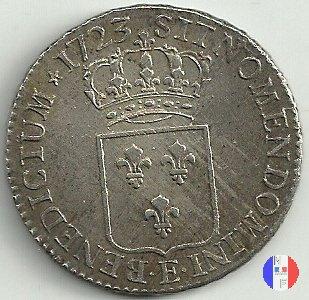 scudo di Francia 1723 (Tours)