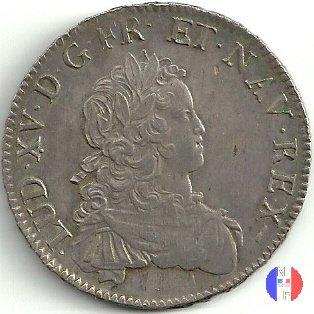 scudo di Francia (anno 1724) 1724 (Lille)