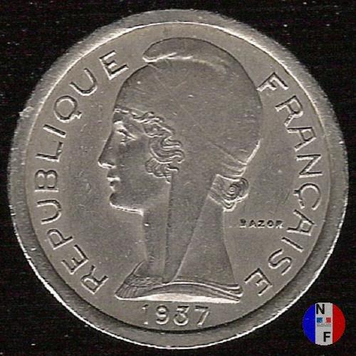 Gettone telefonico - 1937, cupronickel 1937 (Parigi)